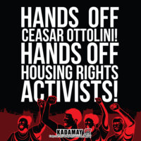 Hands off Cesare Ottolini! Hands off Housing Rights Activists! - Kadamay, Philippines