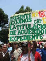 Perù, marcha 26 marzo 2008, 1