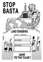 Stop Land Grabbing – land to the tillers!