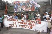 Subscribe the appeal: Solidarity for Zero Evictions in Bulacan and for new policies for the right to housing throughout the Philippines