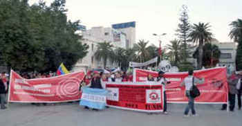 Tunis-Istambul: Pelo reconhecimento internacional do Direito à Cidade