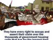 Urban poor Filipinos #OccupyBulacan 5,280 vacant houses