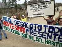 Urgente: movilización internacional por Cero Desalojos en Monte Sinaí, Guayaquil, Ecuador
