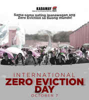 Zero Eviction Days  Philippines 2019